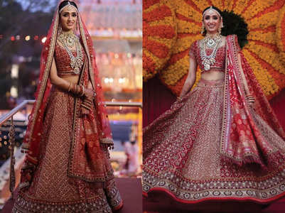 This bride stunned everyone with her lehenga