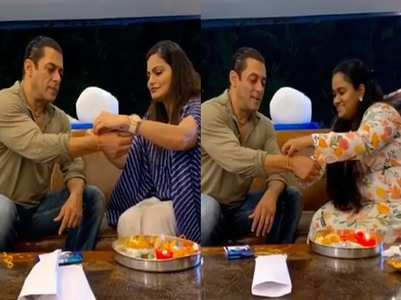 Salman posts a video of his Rakhi celebration