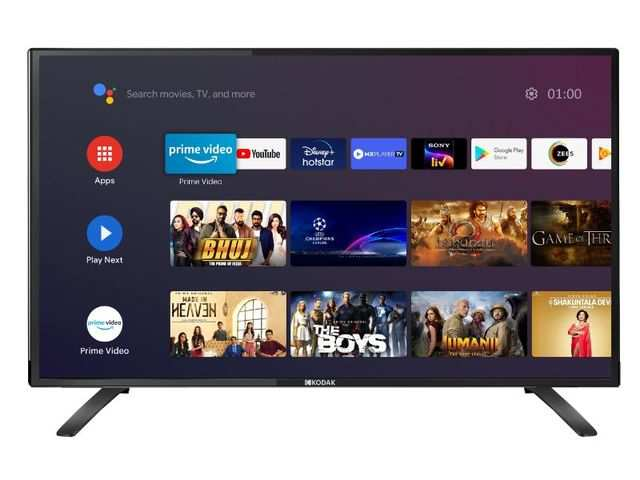 Kodak launches new Android TV starting at Rs 10,999