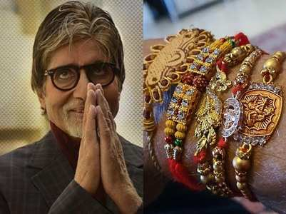 "Big B captions his post, ""collect blessings"""