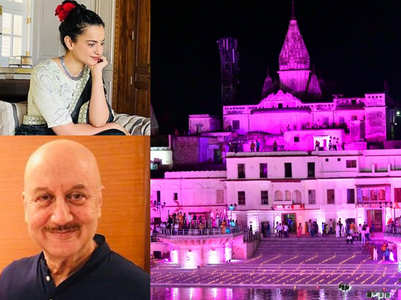 Anupam & Kangana's team share spiritual posts