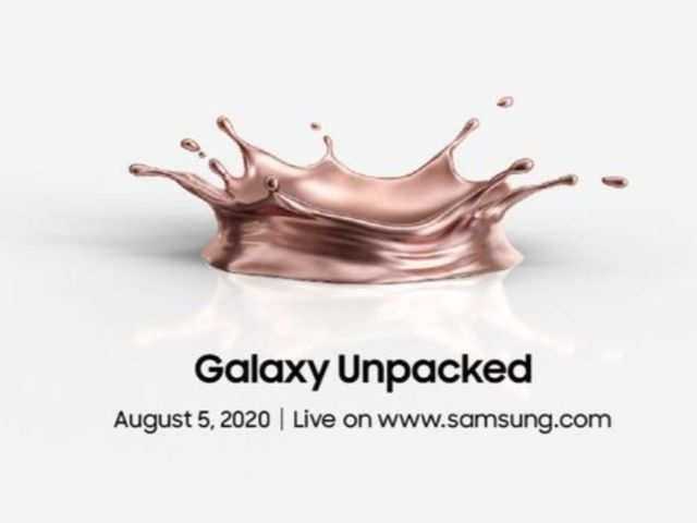 Samsung Galaxy Note 20 series smartphones, Galaxy Fold 2 to launch today at 7:30pm: How to watch the live stream