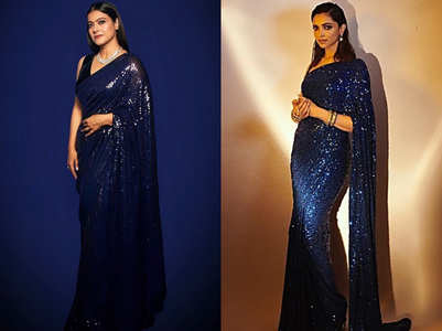 When Kajol and Deepika wore identical saris