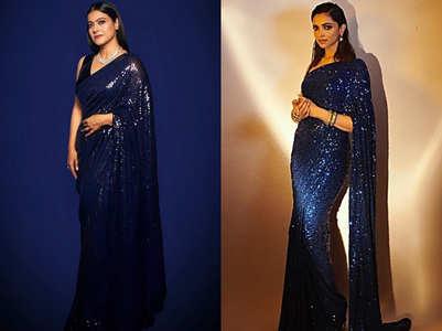 When Kajol and Deepika wore identical saris