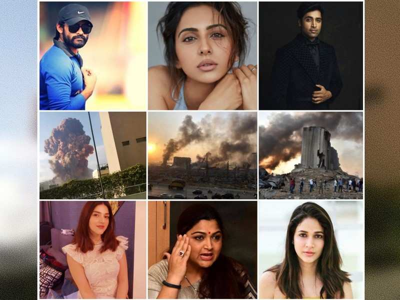 Beirut Explosion: Tollywood celebs pray for victims of the Lebanon explosions