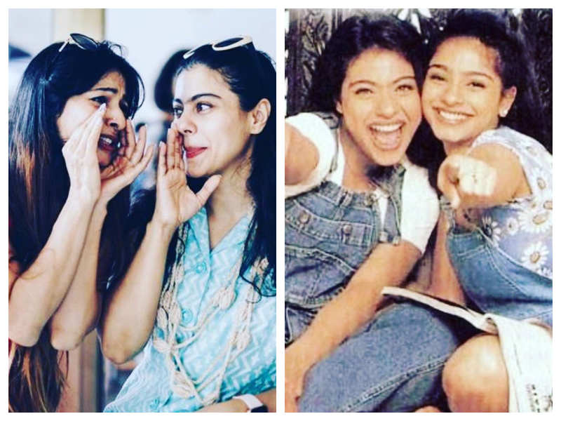Tanishaa Mukerji wishes sister Kajol on her birthday with some lovely throwback pictures