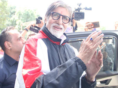 Big B refers to home isolation as prison cell