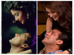 26Years OfHAHK: Madhuri Dixit shares 'then and now' pictures with Salman Khan as she walks down memory lane