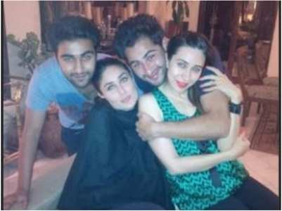 Bebo shares a TB b'day post for Aadar Jain