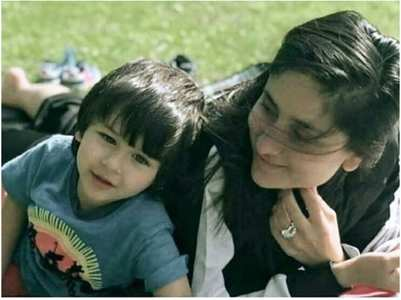 Taimur's throwback pic with Kareena Kapoor