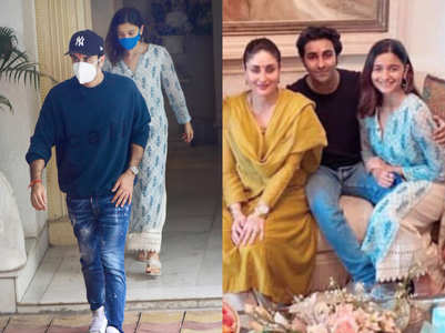 Alia Bhatt wore this kurta for her family lunch with Kapoors