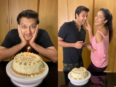 Vatsal Sheth rings in his birthday; in pics