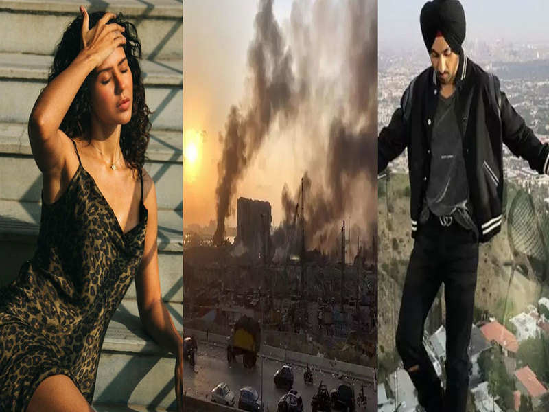 Lebanon explosion: Sonam Bajwa, Diljit Dosanjh, and other Pollywood stars pray for the victims