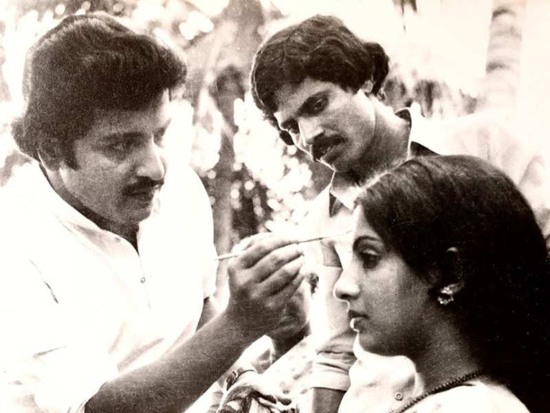When Sivakumar turned makeup man for actress Ambika for the climax of a film