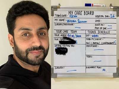 "Abhishek Bachchan has no ""discharge plans"""