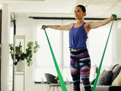 Resistance-band arm workout moves to try