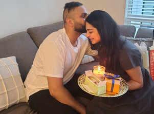 Neeru Bajwa's shares a late but sweet, mandatory Raksha Bandhan pic with brother Suhail Bajwa
