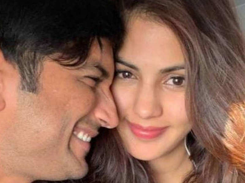 Did Rhea chakraborty get admission to the overdue actors emails after his demise