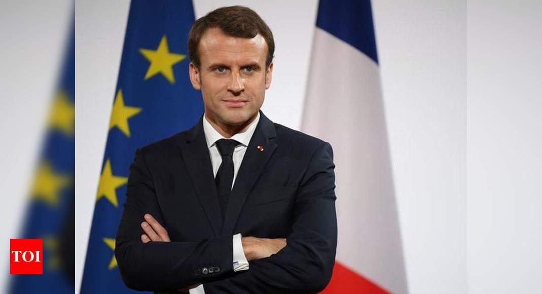 Emmanuel Macron France S Macron Heads To Lebanon After Deadly Mega Blast World News Times Of India