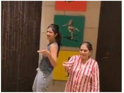 Shilpa's birthday wish for her mother-in-law