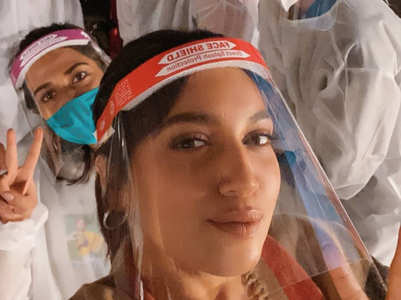 Bhumi resumes work, shares new normal selfie