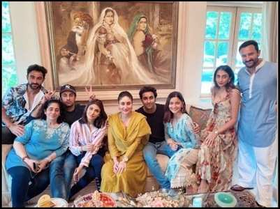 Unseen pics of Alia, Ranbir from family lunch