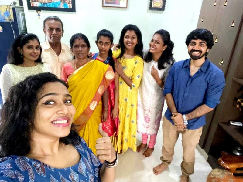 Bigg Boss Tamil 2 winner Riythvika thanks everyone for making her birthday special; see pics (Photo - Twitter)