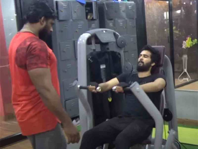 Shane Nigam shows the sweat he puts into Qalb
