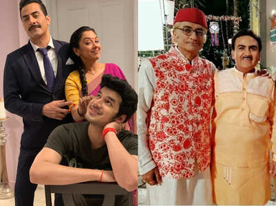 TRP: Anupamaa, Taraak retain the top spots