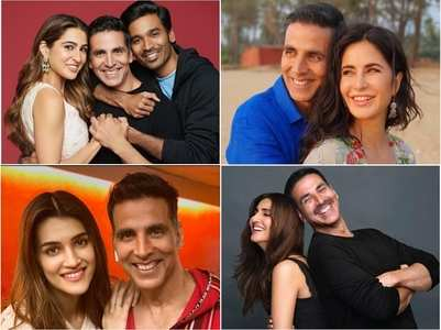 Leading ladies of Akshay's upcoming films