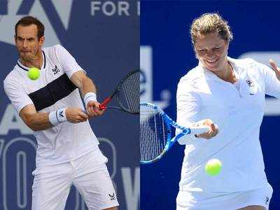 Murray and Clijsters invited to play the US Open