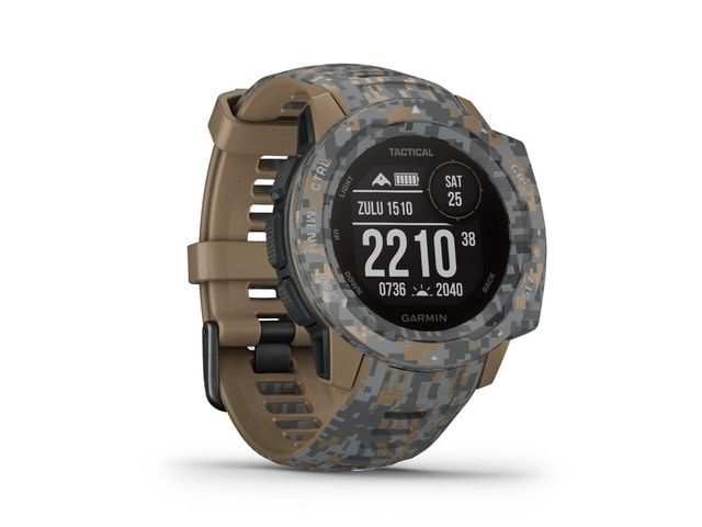 Garmin launches Tactical Edition of Instinct smartwatch in India