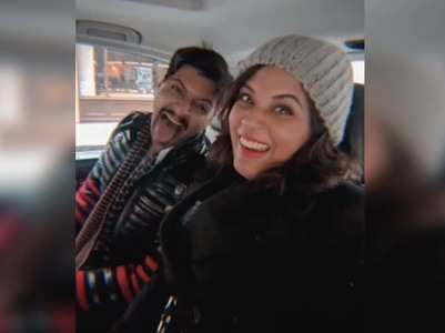 Richa shares a sweet video with beau Ali Fazal
