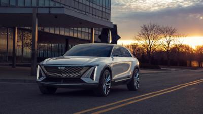 Cadillac Lyriq: GM's Cadillac unveils electric SUV in bid to ...