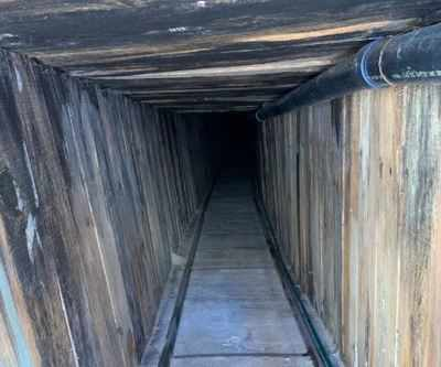 Border tunnel appears to be 'most sophisticated'