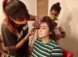 Oindrila shoots for her first film in 12 years