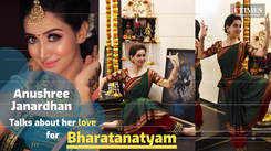 Kannada television actress Anushree Janardhan talks about her love for dance