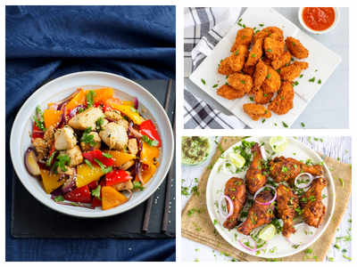 15 Minute easy chicken snacks