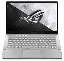 "ASUS ROG Zephyrus G14, 14"" FHD, Ryzen 5 4600HS, GTX 1650Ti 4GB GDDR6 Graphics, Gaming Laptop (8GB/512GB SSD/MS Office 2019/Windows 10/Moonlight White/Anime Matrix/1.7 Kg), GA401II-BM131TS"