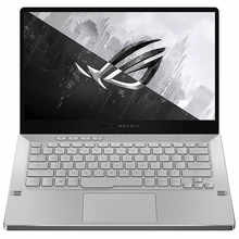 "ASUS ROG Zephyrus G14, 14"" FHD, Ryzen 5 4600HS, GTX 1650Ti 4GB GDDR6 Graphics, Gaming Laptop (8GB/512GB SSD/MS Office 2019/Windows 10/Moonlight White/Without Anime Matrix/1.6 Kg), GA401II-BM129TS"