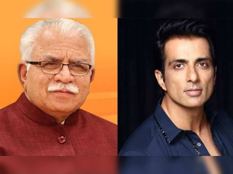 Haryana Chief Minister praises Sonu Sood for helping migrants