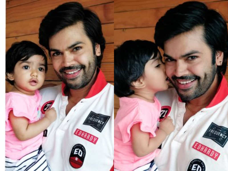 Ganesh Venkatram shares adorable pictures with his daughter