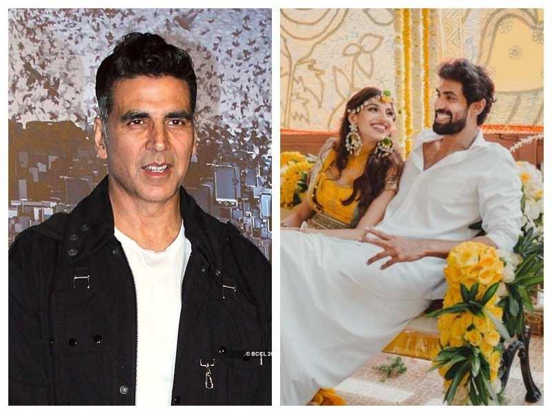 Akshay Kumar wishes Rana Daggubati and Miheeka Bajaj on their wedding, says it is a perfect way to get permanently lockdown