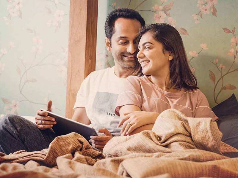 Nazriya's b'day wishes for Fahadh: I thank Allah every day that you were born