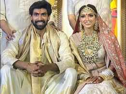 PHOTOS! Rana Daggubati ties the knot with ladylove Miheeka Bajaj in an intimate ceremony