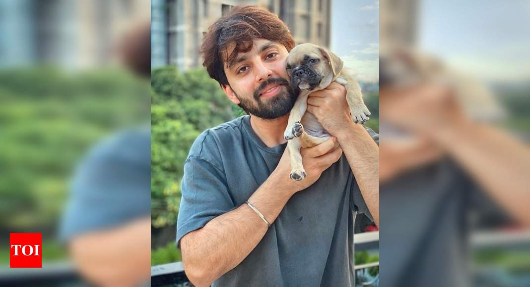 Pet dog: Talking to your furry baby is quite therapeutic, says Himansh Kohli who recently brought home a pet dog