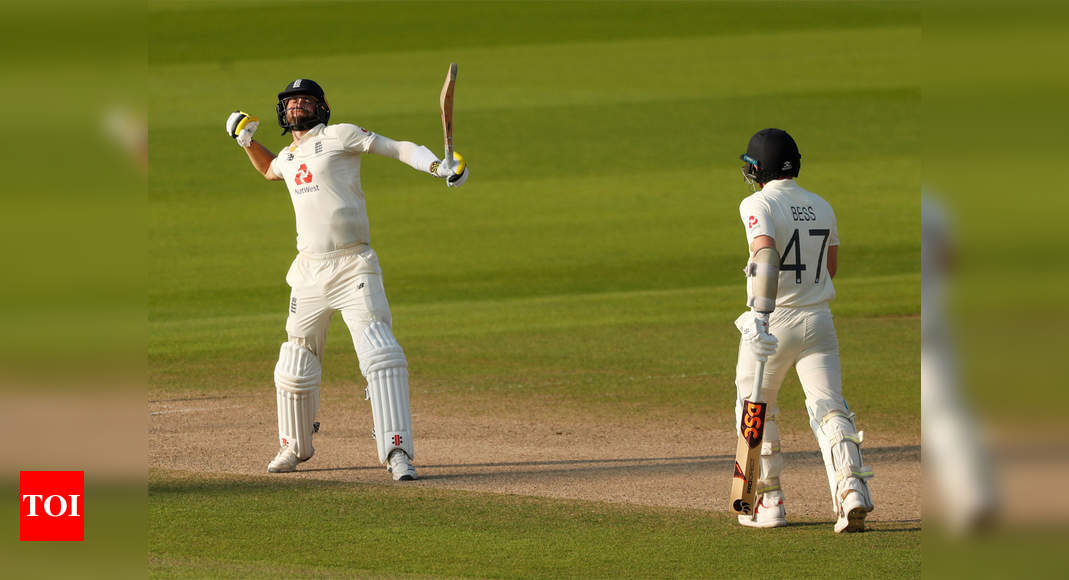 1st Test: Chris Woakes leads England to stunning win over Pakistan - Times of India