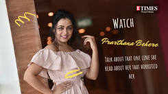 Watch actress Prarthana Behere talk about that one line that horrified her