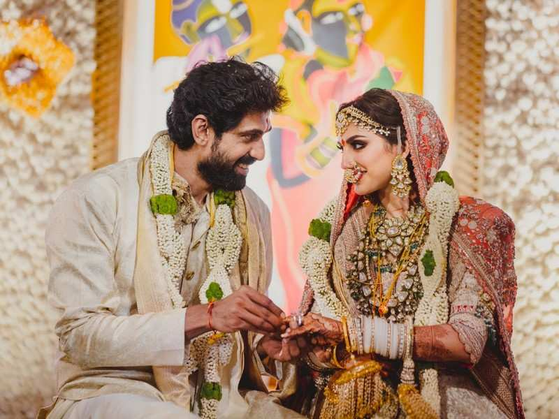 Rana Daggubati ties the knot with Miheeka Bajaj in a traditional ceremony
