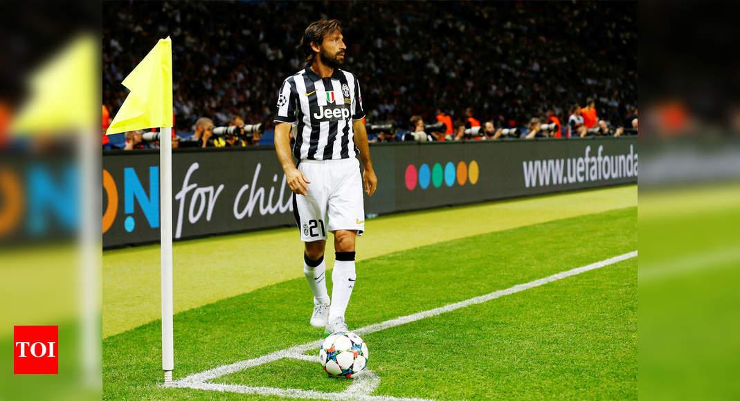 Italy Legend Andrea Pirlo Replaces Maurizio Sarri As Juventus Coach Football News Times Of India